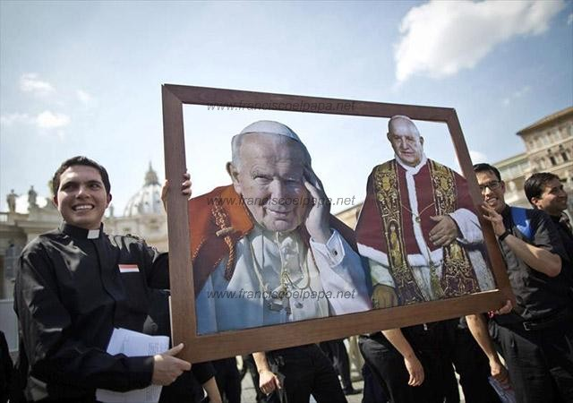 francisco y la canonizacion 16