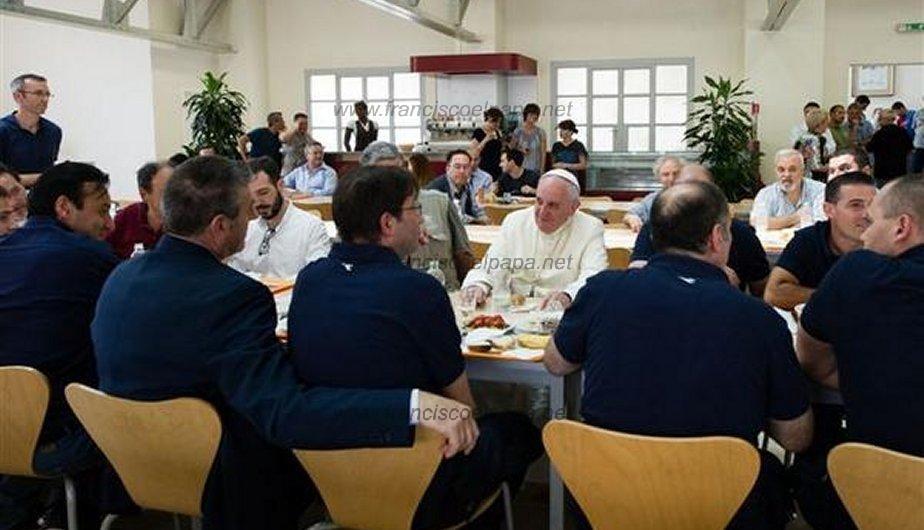 francisco almorzando 5