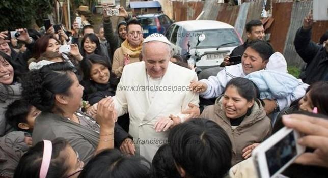 Papa visita Tiburtina